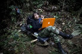 farc u0027s female guerrillas living secret jungle hideout