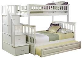 Bedroom  White Bed Set Kids Loft Beds Bunk Beds For Girls With - White bunk bed with desk