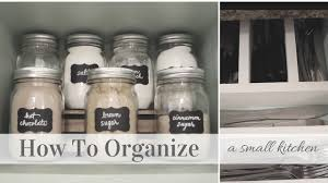 How To Organise A Small Kitchen - how to organize a small kitchen konmari method inspiration youtube
