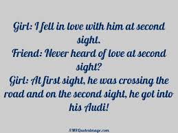 Funny In Love Quotes by I Fell In Love With Him At Funny Sms Quotes Image