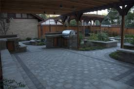 Concrete For Backyard by Paving Designs For Backyard Concrete Pavers And Paver Infromation