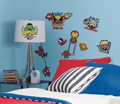 marvel superhero kawaii art wall decals jpg shop by theme
