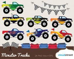 shutterstock stock bigfoot monster truck red clipart monster truck pencil and in color red clipart