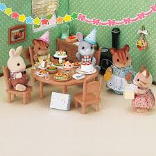 Sylvanian Families Garden Set Sylvanian Families Party Set Toys R Us Australia Join The Fun