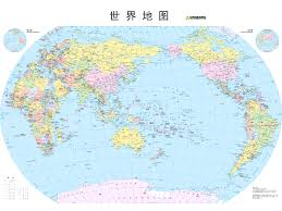 Eastern Hemisphere Map 世界地图 世界地图中文版 Map Of China Location In The World China