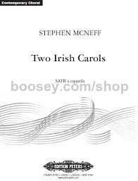 mcneff stephen two carols satb