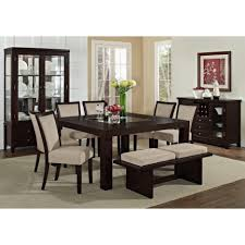Dining Room Table Set With Bench Stunning Set Dining Room Table Images Rugoingmyway Us