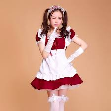 Size Gothic Halloween Costumes Cheap Size French Maid Costume Aliexpress