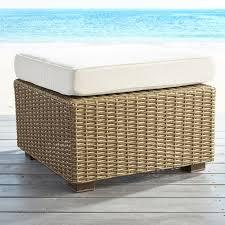 Basket Ottoman by Echo Beach Sand Ottoman Pier 1 Imports