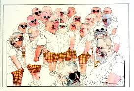 the beautiful horrifying art of ralph steadman beyond the box