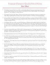 Radio City Music Hall Floor Plan by Tuskegee Golden Voices Choir Concert U2014 The Washington Tuskegee