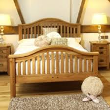 Oak Bed Frame Solid Oak Bed Frame