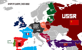 Map Of Europe Political by An Ah Map Of Europe 2032 Worldbuilding