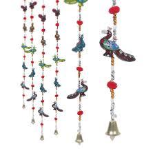 jaipuri haat rajasthani handcrafted peacock door hanging home join sooperstores