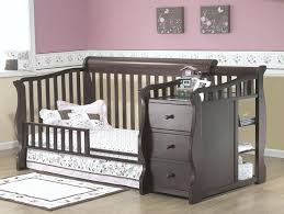 mini crib and changing table crib with attached changing table changing tables mini crib with