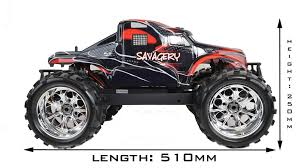hsp 1 8 scale 4wd brushless electric rc monster truck 2 4g big