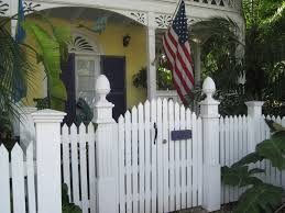 pretty old houses picket fences of key west