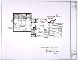 Set Design Floor Plan Artists Sketch Floorplan Of Friends Apartments And Other Famous Tv