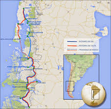 Patagonia Map Northern Patagonia Trip Info