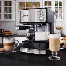 how to make espresso coffee oster prima latte one touch automatic espresso cappuccino latte