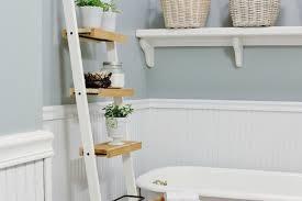 Bathroom Ladder Linen Tower Bookshelf Amazing Leaning Shelf Ikea Fascinating Leaning Shelf