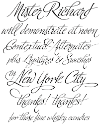 fancy tattoo fonts ministry script by sudtipos type veer com