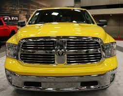 Dodge Ram Yellow - dallas auto show 2016 ram 1500 yellow rose of texas edition will