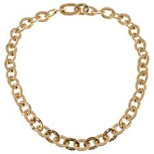 gold link necklace images Pomellato graduated oval link yellow gold necklace for sale at 1stdibs jpg