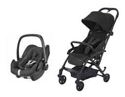 pebble siege auto duo poussette laika nomad black avec siège auto pebble plus i size
