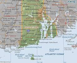 map rhode island map of rhode island united states