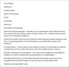 sample letter of intent template 15 free documents in pdf word