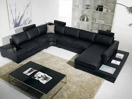 Black Microfiber Sectional Sofa Sofa Black Sectional Sectional Sofa Sale Pit Sofa Black