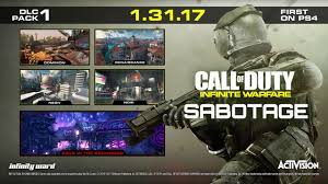 Cod 3 Map Pack Call Of Duty Infinite Warfare Sabotage Dlc Pack 1 Available