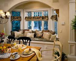 Dining Room Bay Window Treatments - bay u0026 bow window treatments pineridge hills