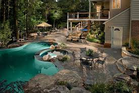 Pool Ideas For Small Backyard by Backyard With Pool Ideas For Modern And Relaxing Home Pmsilver