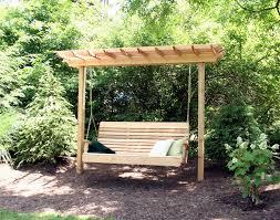 pergola swing garden swing design lovely impressive twin wooden pergola swing