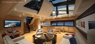 Home Yacht Interiors Design Odyssey Yachts Interior Of The Motor Yacht Apollo 100 U2014 Luxury