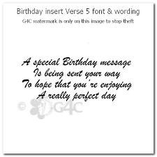 birthday card verses gangcraft net