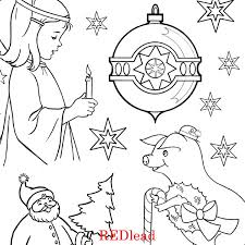 christmas coloring pages collage sheets red lead shop
