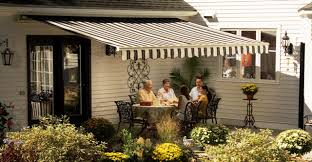 Retractable Sun Awning Wsa Weather Sealco Sunsetter Awnings Serving North East Ohio