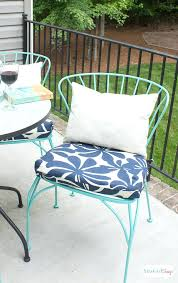 Patio Chairs With Cushions Outdoor Patio Chair Cushions Great Small Outdoor Seat Cushions