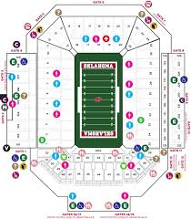 Garden State Plaza Map by Gaylord Family Oklahoma Memorial Stadium The Official Site Of