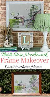 coastal needlework makeover our southern home