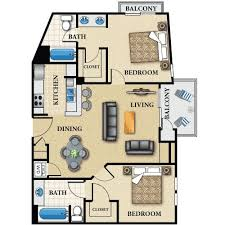 Two Bed Two Bath Apartment Apartments In Los Angeles Inspiration Pinterest 2 Bedroom