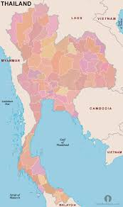 Blank Map Of South Africa Provinces by Thailand Provinces Outline Map Provinces Outline Map Of Thailand