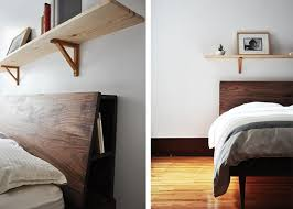 five favorites wooden beds with angled headboards remodelista