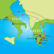 Map Of Greece And Turkey by The Classical World Greece Rome U0026 Pompeii