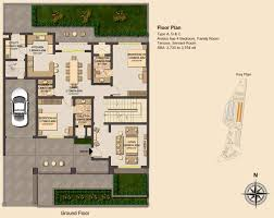 apartment plan typ