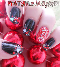 valentine nail designs prettypolishes simple valentine u0027s day