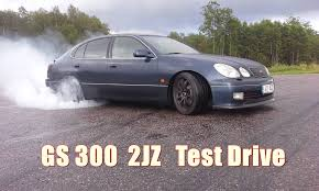 lexus gs300 2jz gte swap test drive youtube